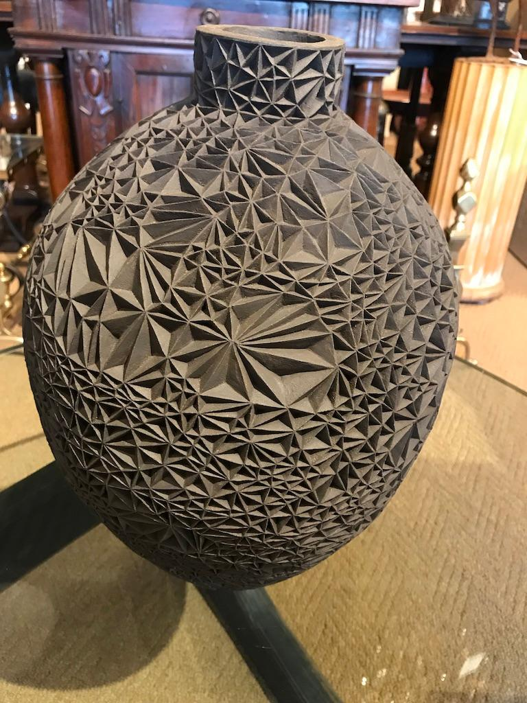Ceramic Vase 'Primavera' by Leah Jensen For Sale 10