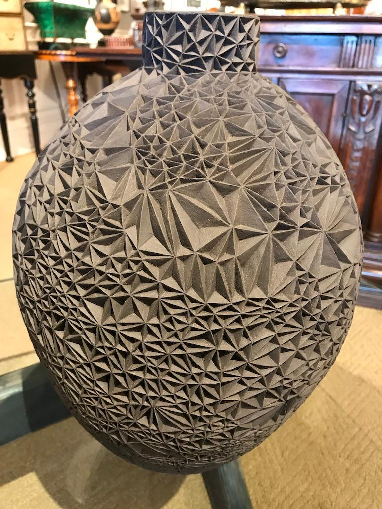 Ceramic Vase 'Primavera' by Leah Jensen For Sale 11