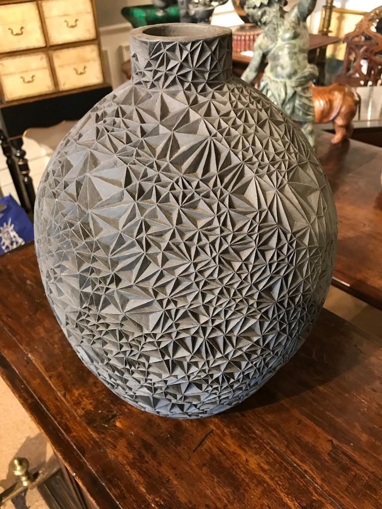 Contemporary Ceramic Vase 'Primavera' by Leah Jensen For Sale