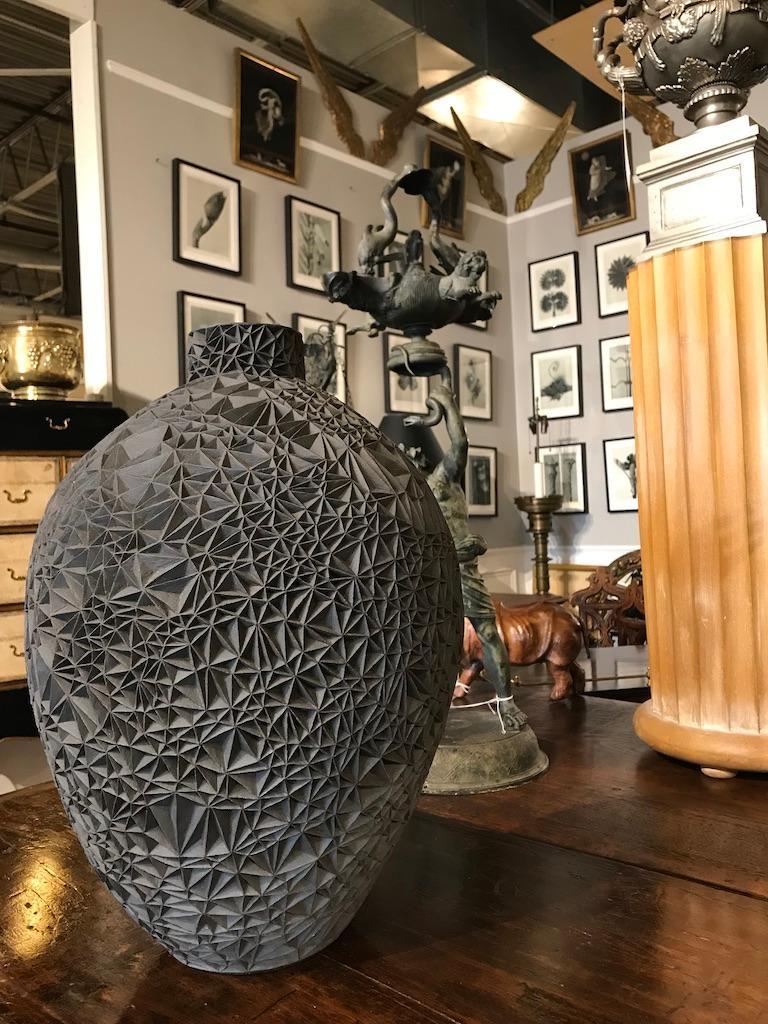 Ceramic Vase 'Primavera' by Leah Jensen For Sale 1