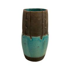 Ceramic Vase Signed Lecomte, Vallauris