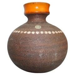 Ceramic Vase, Sweden, C 1960, Scandinavian Mid-Century