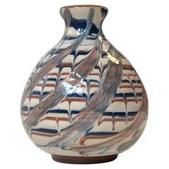 Ceramic Vase with Deconstructed Glaze, JB 1950s