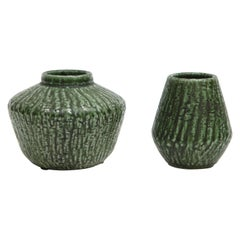 Ceramic Vases by Nymolle, Denmark, circa 1960