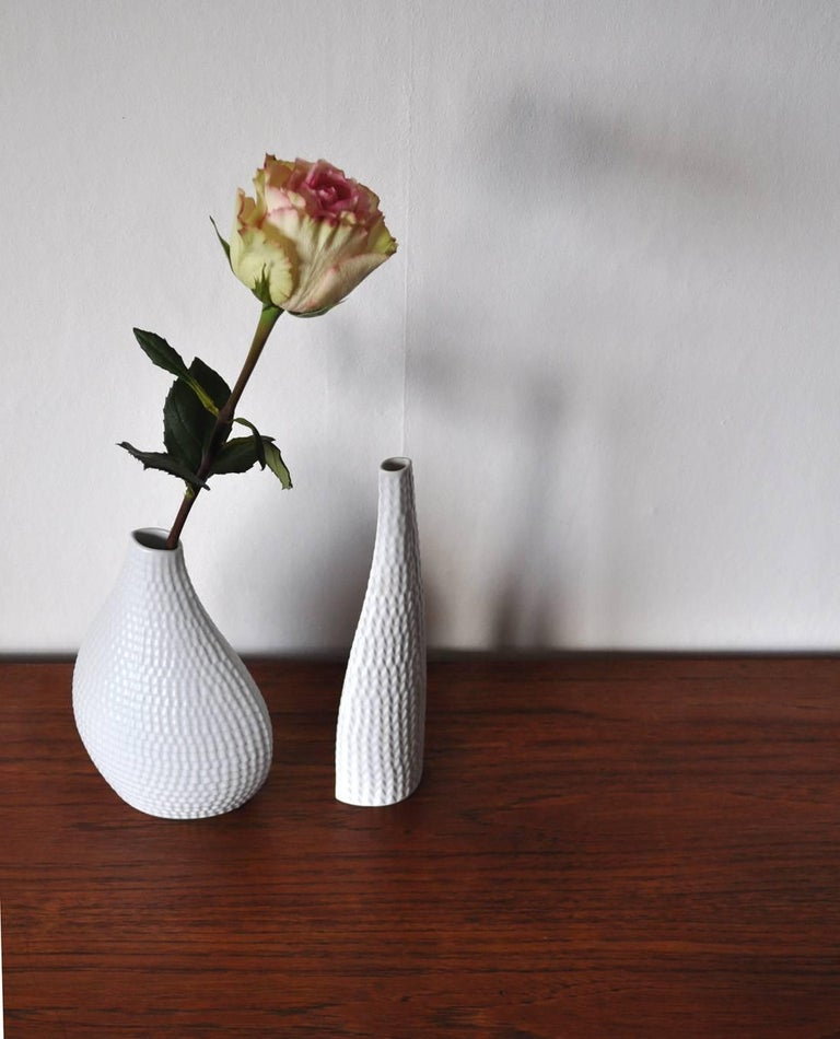 Ceramic Vases Model Reptil Designed by Stig Lindberg, Set of Two For Sale 5