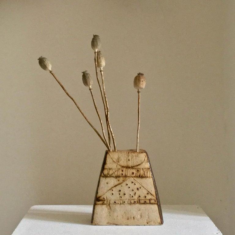 Mid-Century Modern Ceramic Vessel by Bernard Rooke, Mid-20th Century, England For Sale