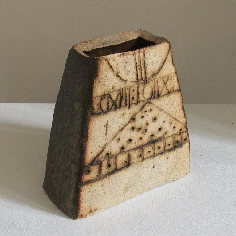British Ceramic Vessel by Bernard Rooke, Mid-20th Century, England For Sale