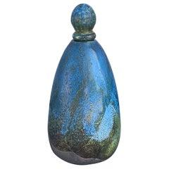 Ceramic Vessel with Lid by Haggerty of Santa Barbara