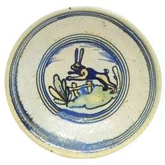 Ceramic Wall Dish by Chris. J. Lanooy