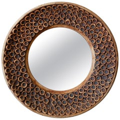 Ceramic Wall Mirror, 1960s