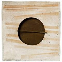 Ceramic Wall Panel by Jacqueline Paul Dauphin, circa 1980 La Borne