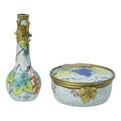 Ceramica Art Noveau Design Louis Dage