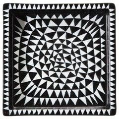 "Ceramics by Stig Lindberg, Midcentury, ""Domino"" Group, Scandinavian, circa 1950"