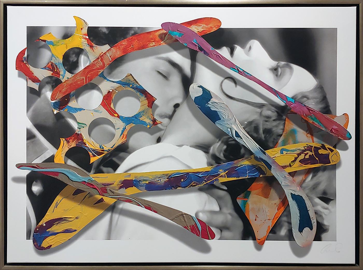 """""""Del Rio, The Embrace"""" 40x54"""" on canvas"""