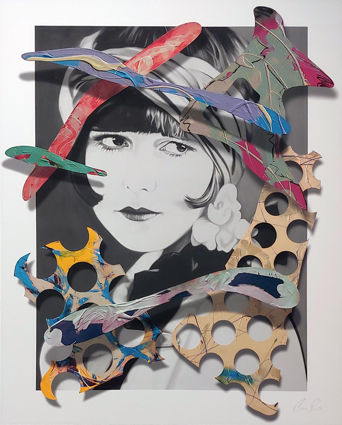 """The Silent Star""  46x38 on canvas"
