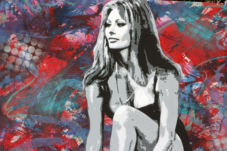 Ceravolo's Large scale paintings have received international acclaim for more three decades. This year will be the 40th anniversary of Ceravolo's urban pop portrait illusion paintings, a style that Ceravolo pioneered in the late 1970's.  This