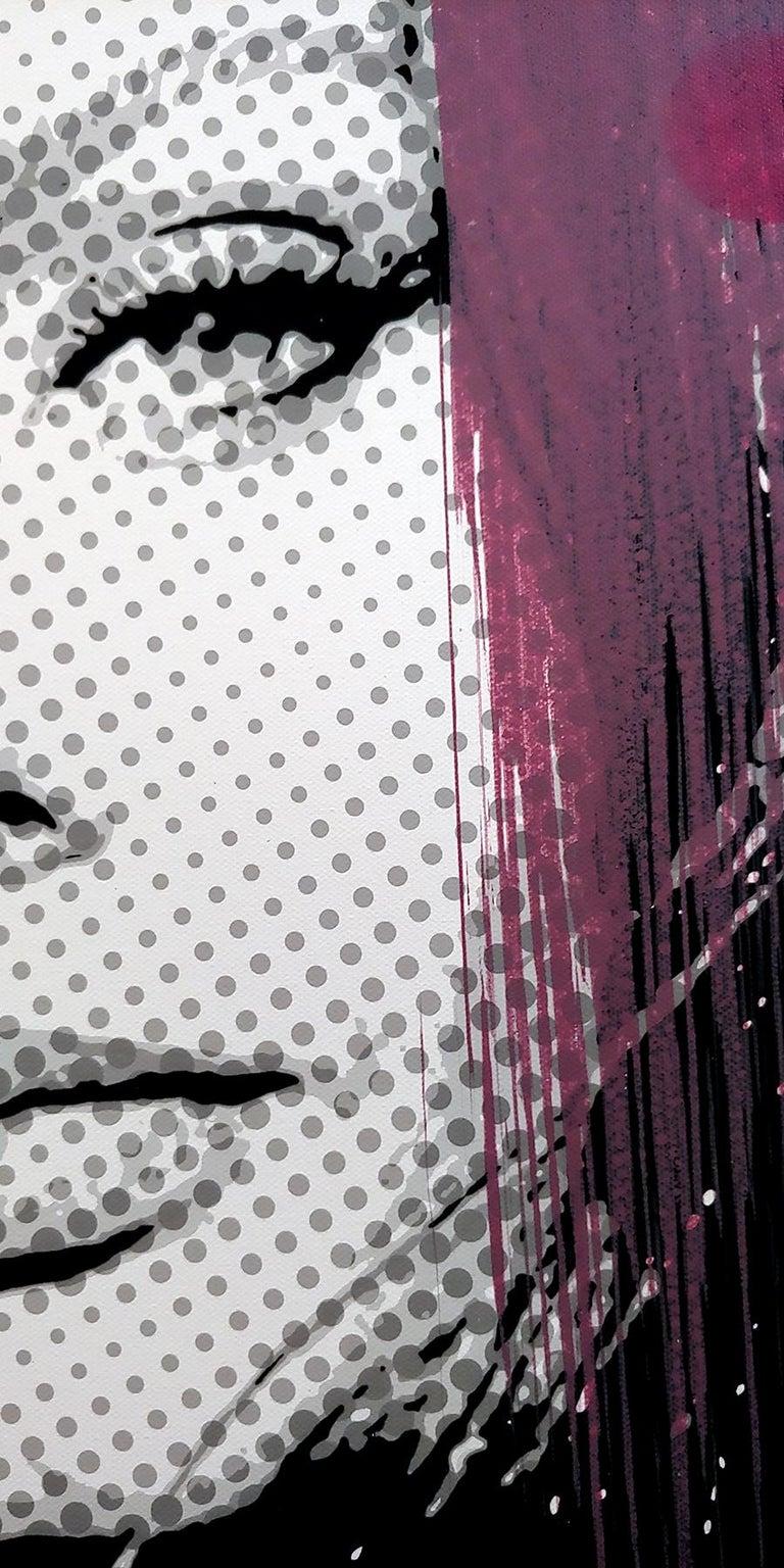 To celebrate the 40th anniversary of Ceravolo's Portrait/illusion urban Pop paintings Ceravolo has created