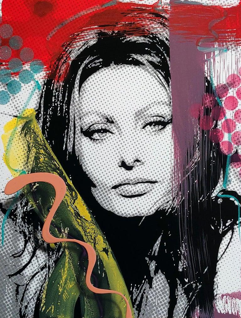 """Ceravolo Portrait Painting - """"Sophia Portrait Illusion 2"""""""