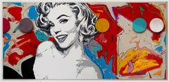 """""""The Fabulous 50s""""  Oil and Acrylic on Canvas,  30x64"""""""