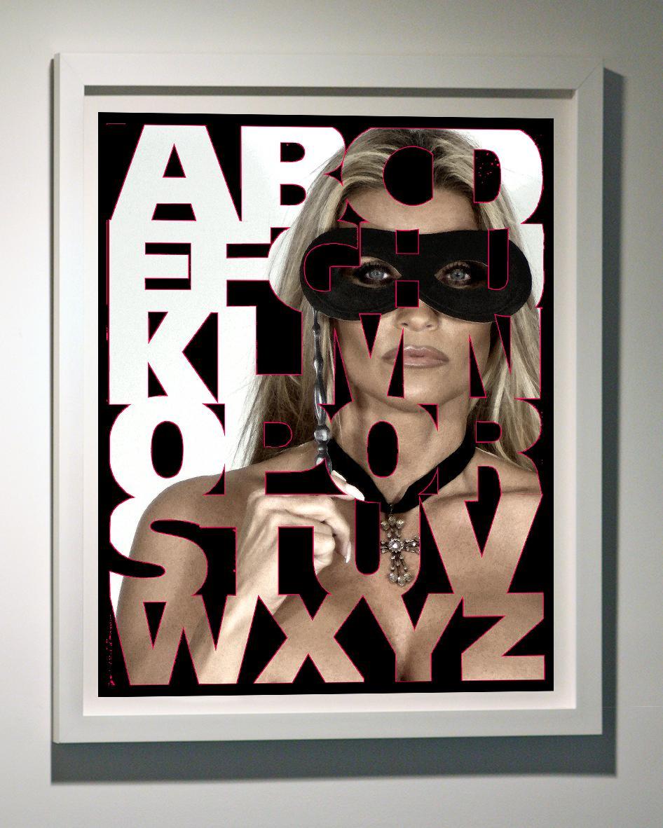 Alphabet Masquerade, 47x38,
