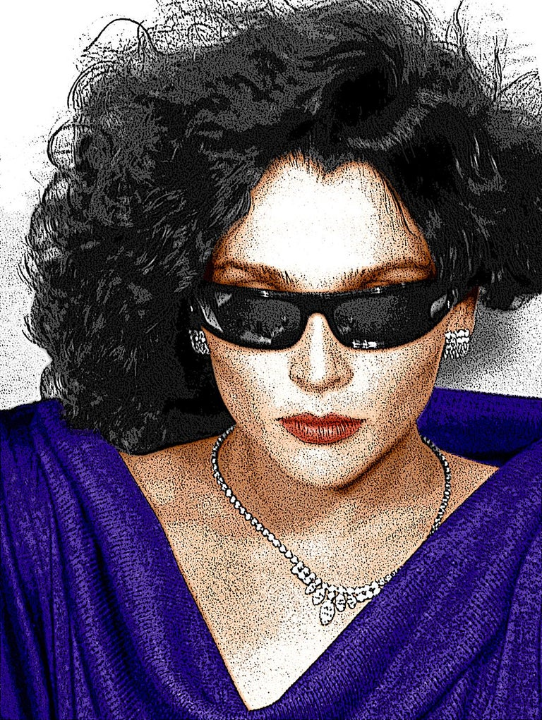 Sunglasses and Diamonds,  - Contemporary Photograph by Ceravolo
