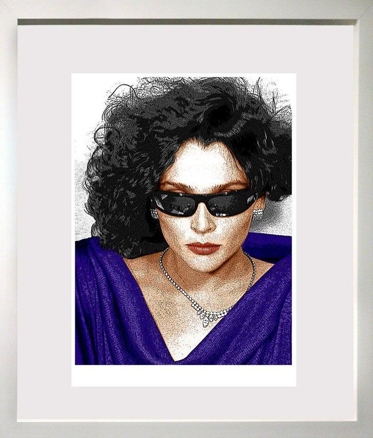 Ceravolo Portrait Photograph - Sunglasses and Diamonds,