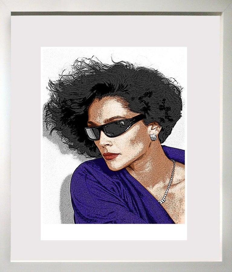 """Ceravolo Portrait Photograph - """"Sunglasses and Diamonds profile"""","""
