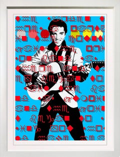 "Elvis Jailhouse Rock, 39x30"" Framed very limited edition of only 10"