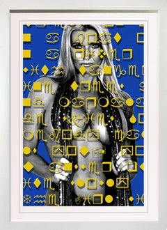 """""""The Girl with Kaleidoscope Eyes""""  39x28"""" Framed limited edition of only 10"""