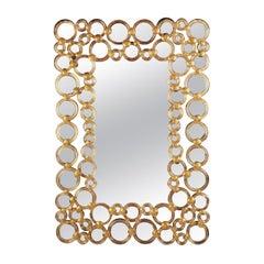 Cerchi Rectangular Mirror by Ongaro & Fuga