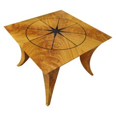 Cerejeira Crotch Coffee Table