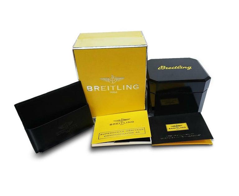Women's or Men's Certified 1.50 Carat Diamond Breitling Colt Chronometre Diver Watch For Sale