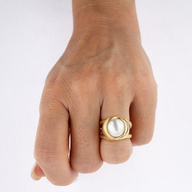 Certified 18Kt Yellow Gold with 3 Interchangeable Gemstones  For Sale 4