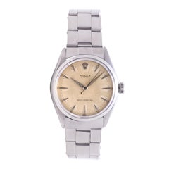 Certified 1956 Rolex Precision 6480 Off-White Dial