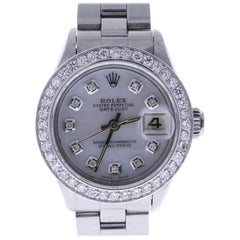 Certified 1969 Rolex Date 6517 Mother of Pearl Dial