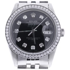 Certified 1982 Rolex Datejust 16014 Black Dial