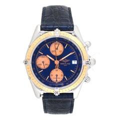 Certified 1991 Breitling Chronomat C13047 Blue Dial