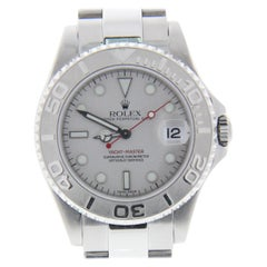 Certified 2001 Rolex Yacht-Master 168622 Grey Dial
