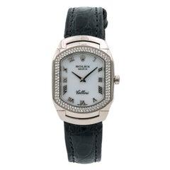 Certified 2002 Rolex Cellini 6691 White Dial