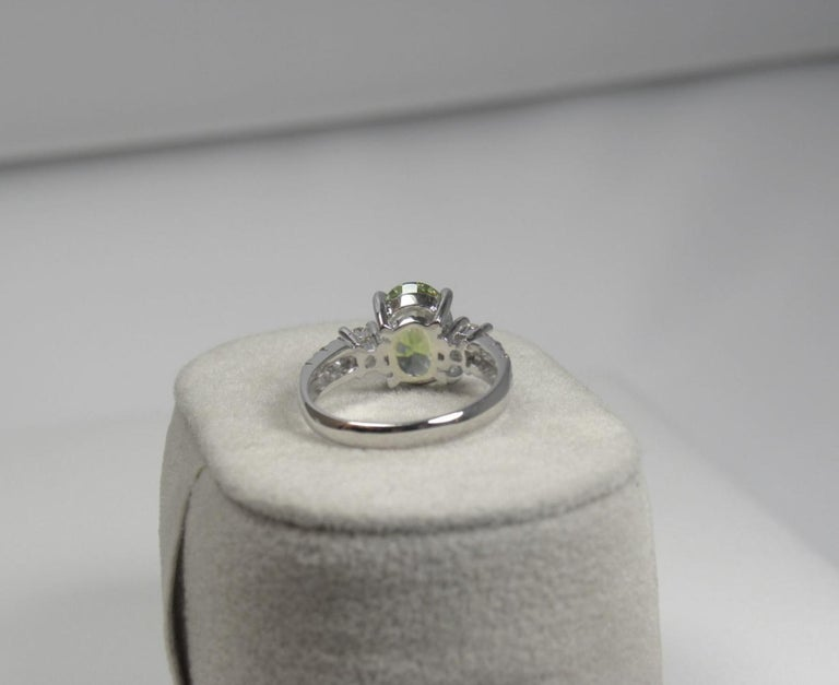 Certified 4.38 Carat Untreated Fine Sapphire and Diamond Engagement Ring 18K For Sale 6