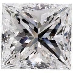 Certified 8.16 Carat Princess Cut Diamond