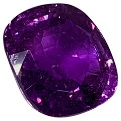 Certified 8.77 Carat Natural Purple Sapphire for Bespoke Ring Creation