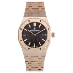 Certified Authentic and Warranty, Audemars Piguet Royal Oak 32592, Brown Dial