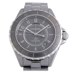Certified Authentic and Warranty, Chanel J126270, Grey Dial