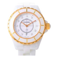 Certified Authentic and Warranty, Chanel J128718, White Dial