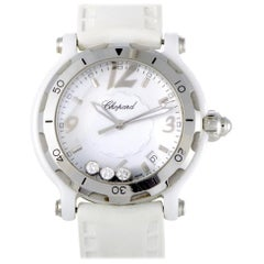 Certified Authentic and Warranty, Chopard Happy Sport3302, White Dial