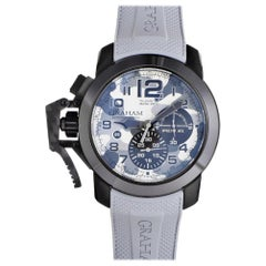 Certified Authentic and Warranty, Graham Chronofighter 3281, Missing Dial