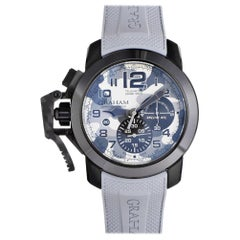 Certified Authentic and Warranty, Graham Chronofighter 7496, Missing Dial