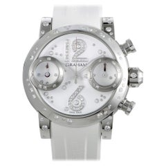 Certified Authentic and Warranty, Graham Swordfish10788, White Dial