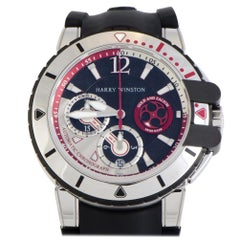 Certified Authentic and Warranty, Harry Winston Ocean33098, White Dial